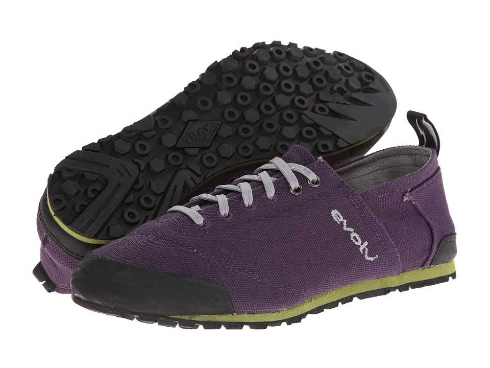 EVOLV Cruzer Purple 1 Womens Lace up casual Shoes