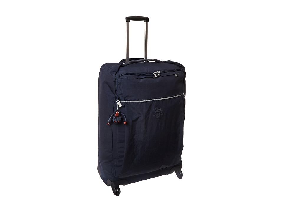Kipling - Darcey Large Wheeled Luggage (True Blue) Luggage