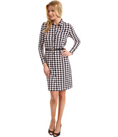 Anne Klein - Houndstooth Print Dress