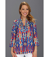 Jones New York - Three Button Embellished Tunic