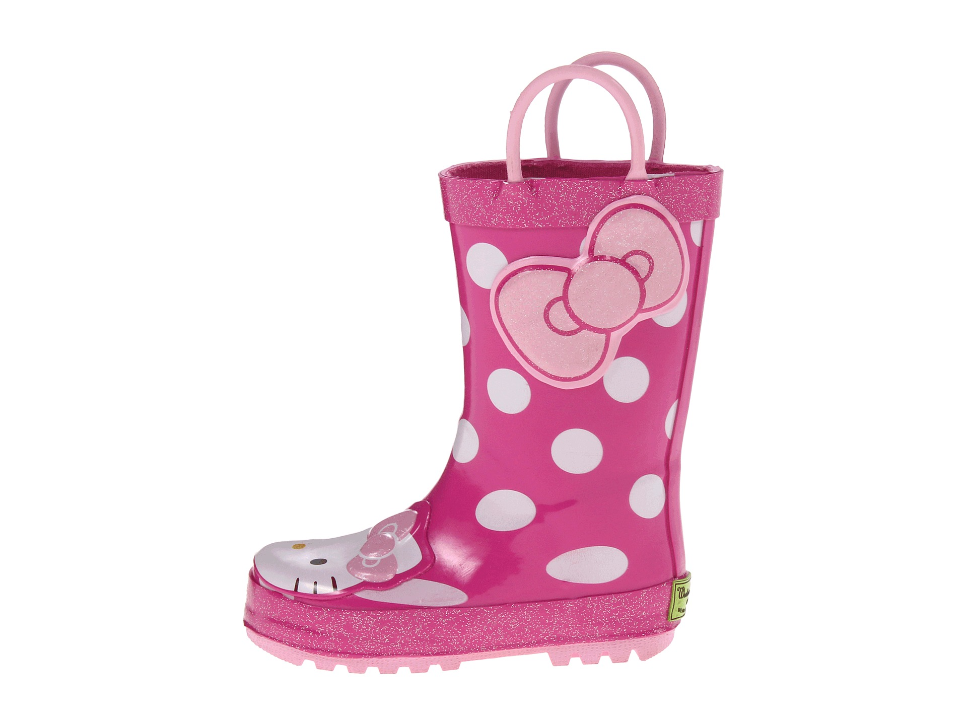 Western Chief Kids Hello Kitty® Cutie Dot Rain Boot (Toddler ...