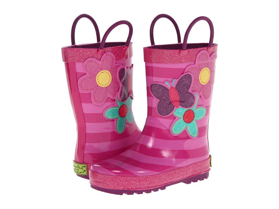 Western Chief Kids Blossom Cutie Rainboot (Toddler/Little Kid/Big Kid) (Pink) Girls Shoes