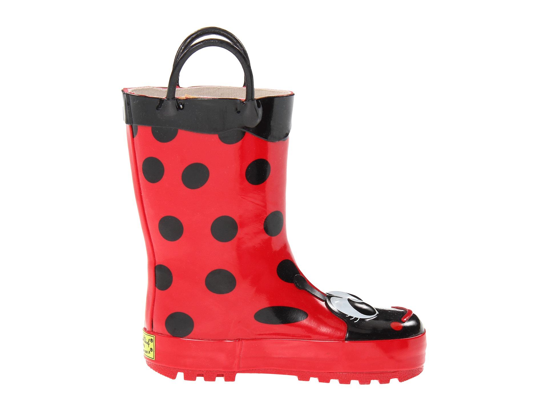 Western Chief Kids Ladybug Rainboot (Toddler/Little Kid/Big Kid ...
