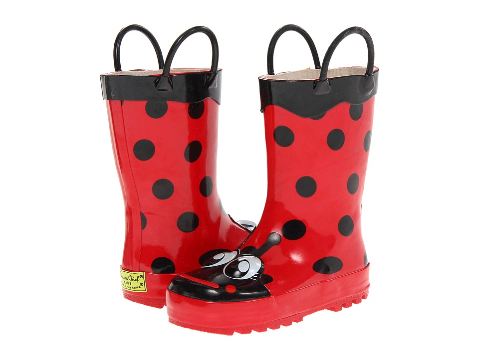 Western Chief Kids - Ladybug Rainboot (Toddler/Little Kid/Big Kid) (Red) Girls Shoes