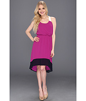 Jessica Simpson - Colorblock Dress with Crisscross Back