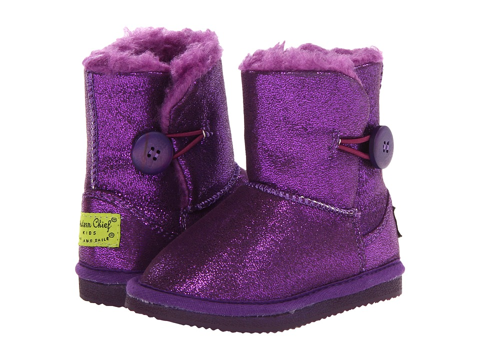 Western Chief Kids Dazzle Toddler/Little Kid Purple Girls Shoes