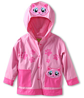 Western Chief Kids - Pink Kitty Raincoat (Toddler/Little Kids)