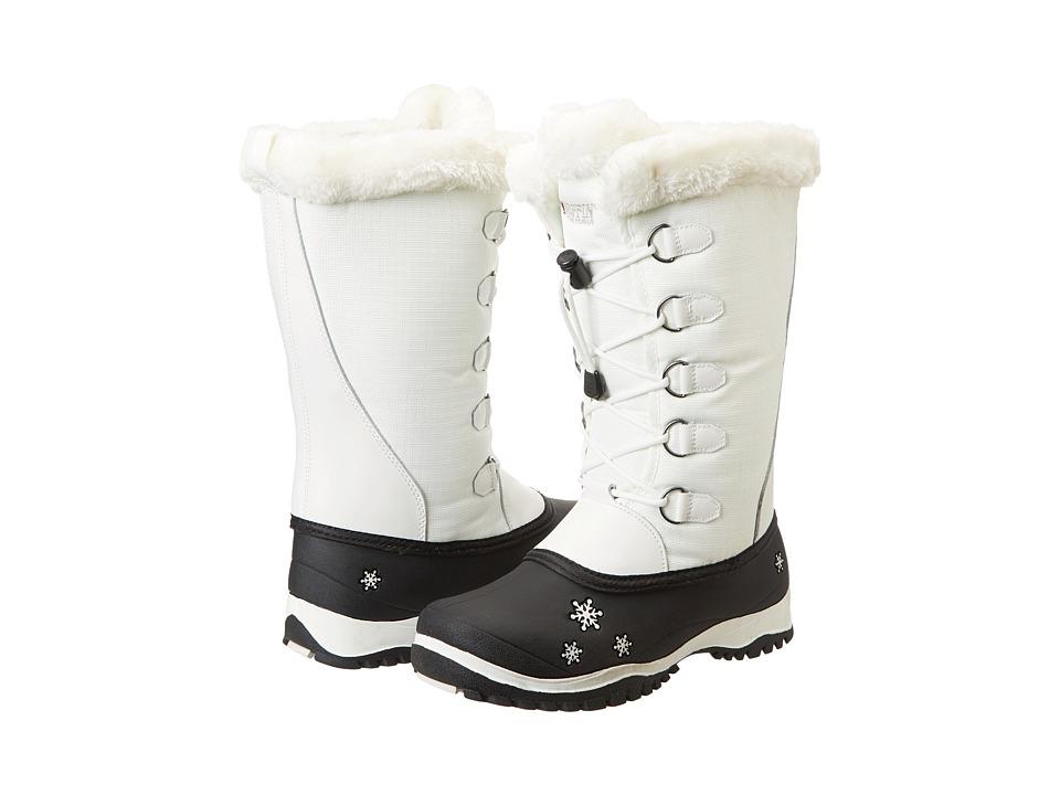 Baffin Kids Shari (Little Kid/Big Kid) (White) Girls Shoes