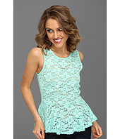Brigitte Bailey - Cara Lace Peplum Top