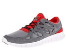 Nike - Free Run+ 2 (Cool Grey/Black/Challenge Red/Cool Red)