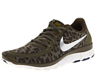 Nike - Free 5.0 V4 (Medium Olive/Dark Loden/Brave Blue/Metallic Silver)