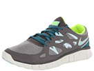 Nike - Free Run 2 Ext (Canyon Grey/Mineral Teal/Volt/Teal Tint)