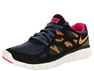 Nike - Free Run 2 Ext (Black/Dark Armory Blue/Pink Foil/Gold Suede)