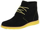 Cole Haan - Lunargrand Chukka (Black/Limelight) - Cole Haan Shoes