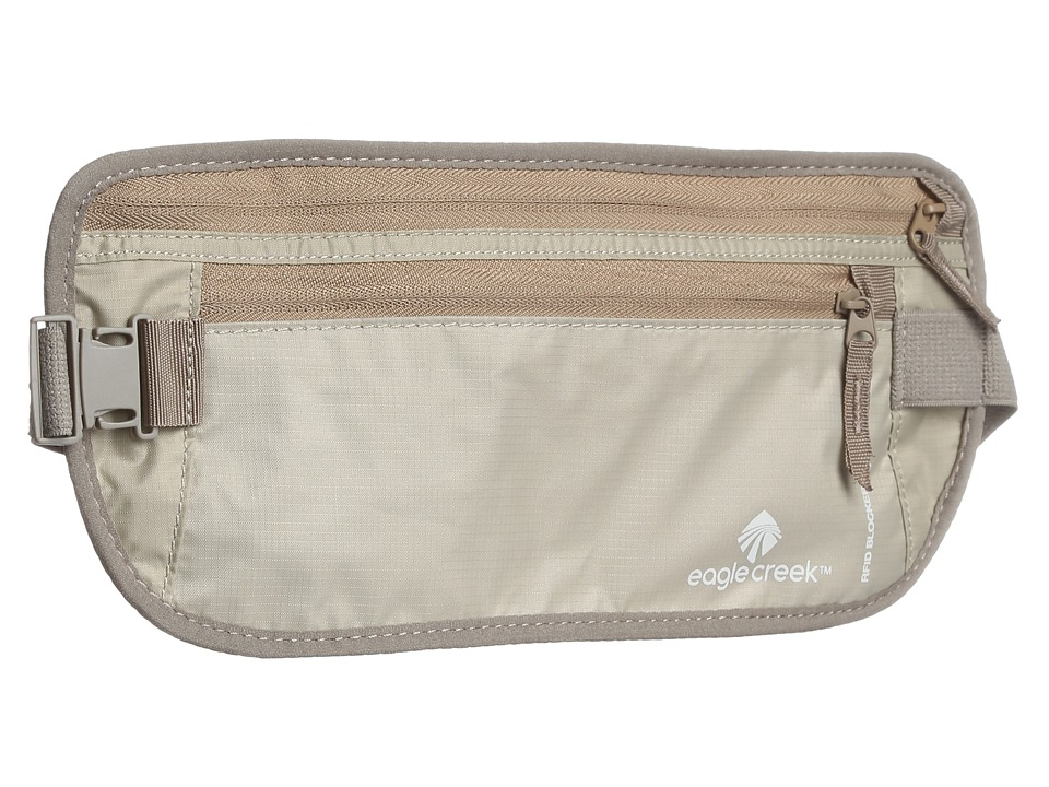 Eagle Creek - RFID Blocker Money Belt Deluxe (Tan) Wallet
