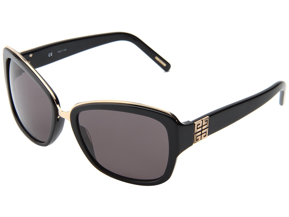 Givenchy SGV 827 Black/Gradient Grey Fashion Sunglasses