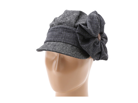 San Diego Hat Company EBH9864 Flower Button Cabbie