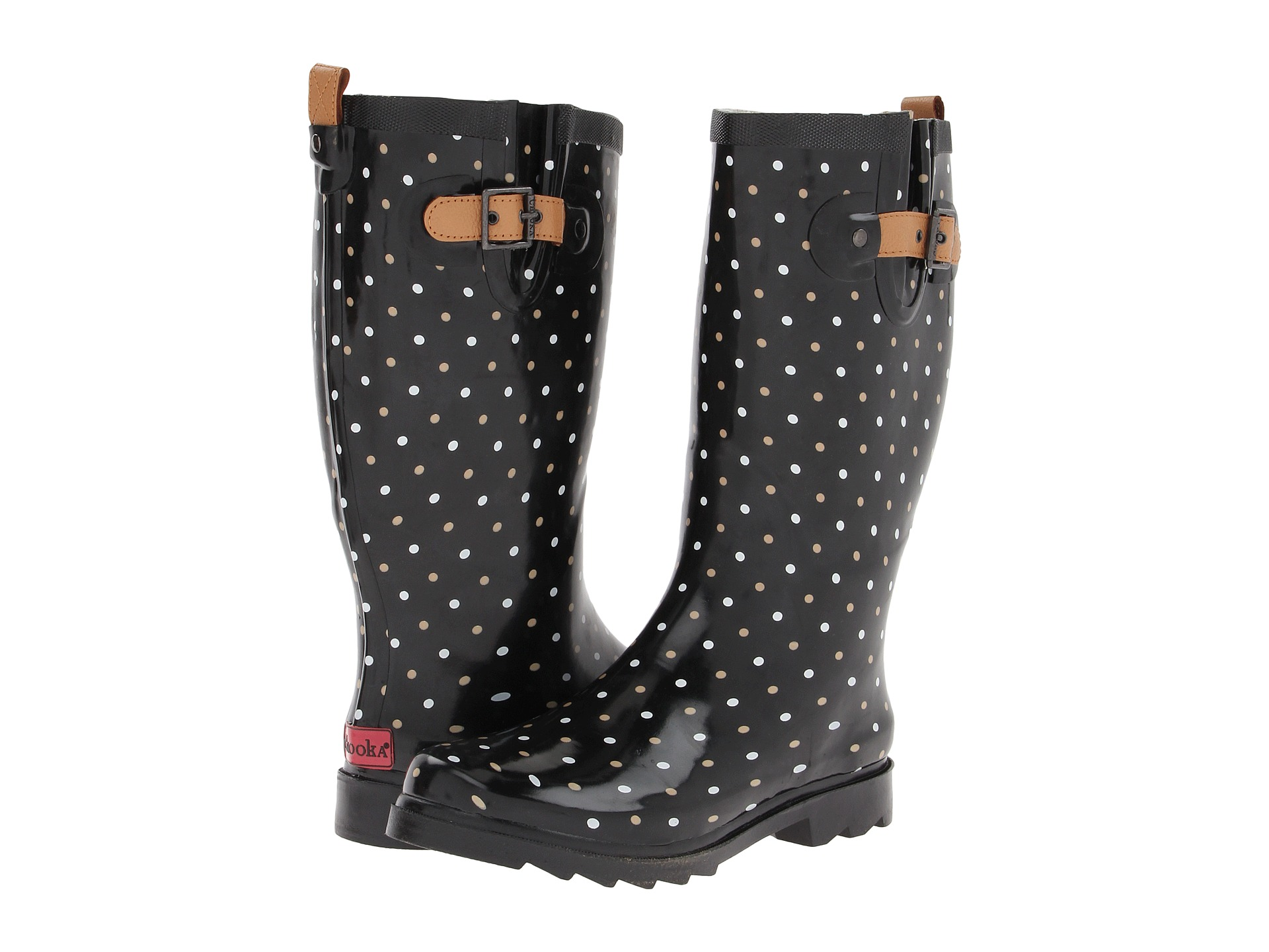 Chooka Classic Dot Rain Boot - Zappos.com Free Shipping BOTH Ways