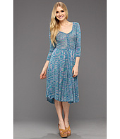 Free People - Space Dye Henley Dress