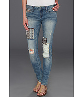 Free People - Baja Patched Skinny in Indigo Wash