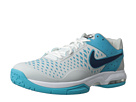 Nike - Air Cage Advantage (Dusty Grey/Gamma Blue/White/Brave Blue)