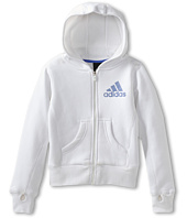 adidas Kids - Cotton Fleece Full Zip (Little Kids/Big Kids)