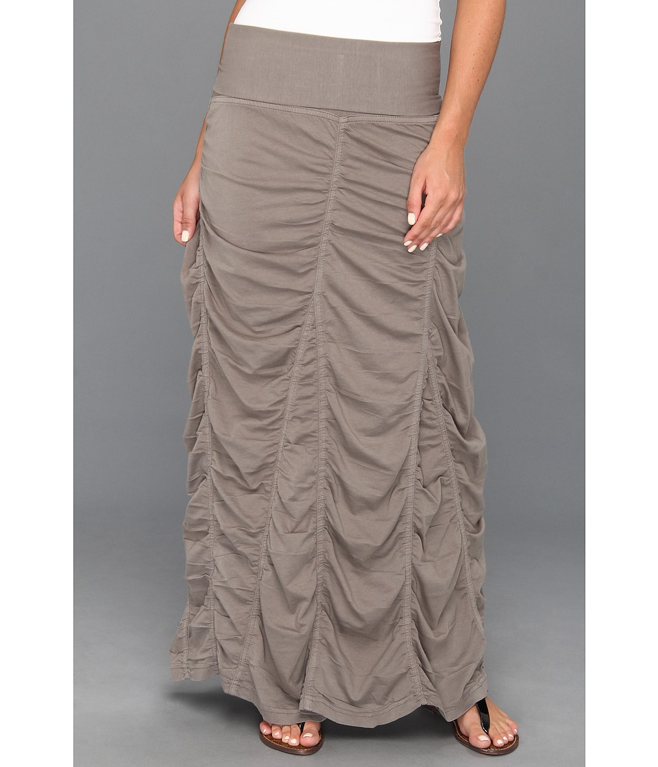 XCVI Jersey Peasant Skirt Moonbeam Womens Skirt