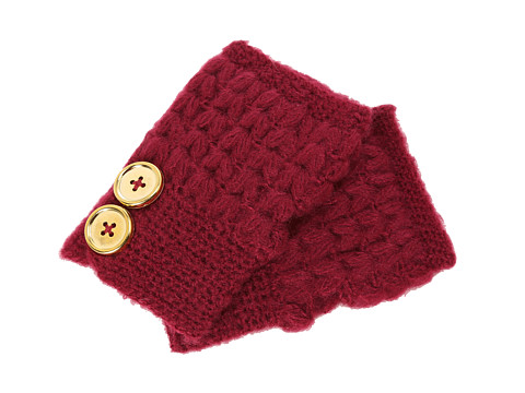 San Diego Hat Company KNG3132 Knit Button Fingerless Gloves