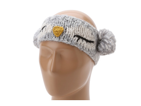 San Diego Hat Company KNH3246 Sleeping Owl Pom Headband