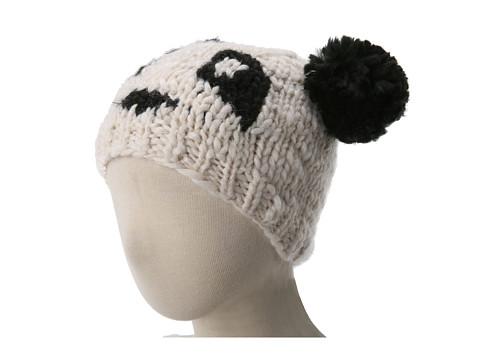 San Diego Hat Company Kids KNK3256 Panda Pom Beanie Hat (Little Kids)
