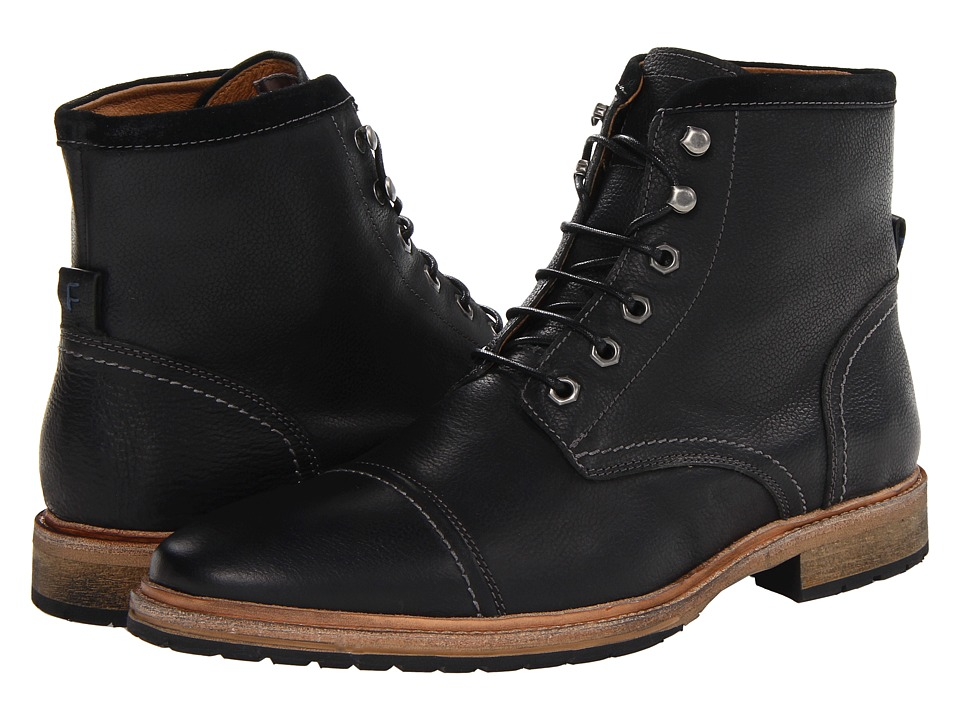 Florsheim Indie Cap Toe Boot (Black) Men
