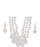 rsvp - Rock Beaded Necklace Set
