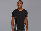 adidas - Supernova Short Sleeve Tee (Black/Tech Grey)