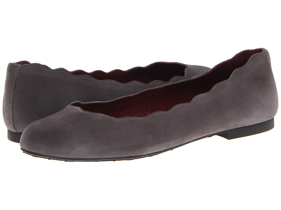 French Sole Jigsaw (Grey Suede) Women