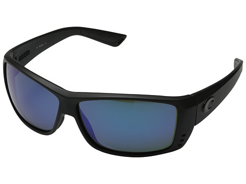 Costa Cat Cay 580 Mirror Glass - Black Out/Blue Mirror 580 Glass Lens