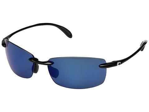 Costa Ballast 580 Plastic - Black/Blue Mirror 580 Plastic Lens