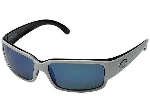 Costa Cabillito 580 Plastic Lens - White+Black/Gray 580 Plastic Lens