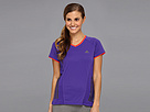 adidas - Supernova Short-Sleeve Tee (Blast Purple)