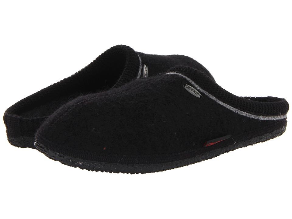 Giesswein Ammern Classic Black Slippers