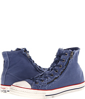 Converse - Chuck Taylor® All Star® Double Zip Washed Canvas Hi