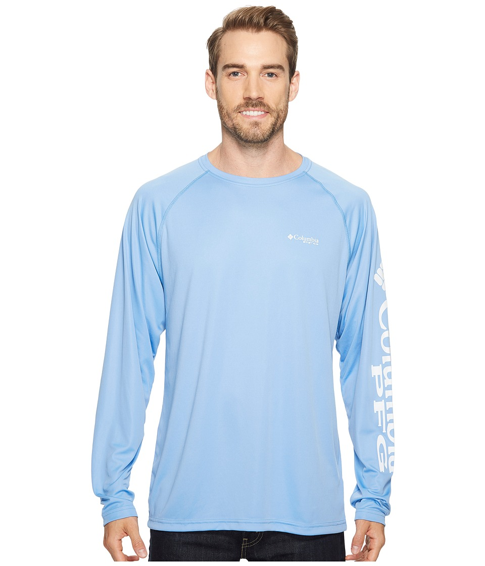 Columbia Terminal Tackle L/S Shirt (White Cap/White Logo) Men