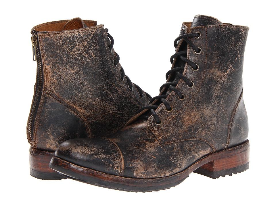 Bed Stu Protege Black Lux Mens Boots