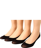 Anne Klein - Solid Cushioned Loafer Sock (4-Pair Pack)
