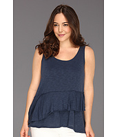 DKNY Jeans - Plus Size Ruffle Tier Top