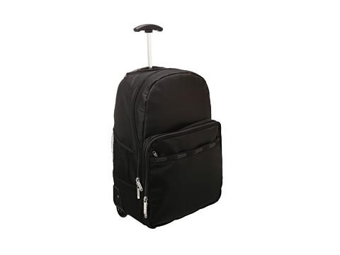 Black Rolling Backpack