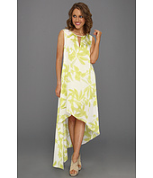 BCBGMAXAZRIA - Printed Willow Asymmetrical Dress