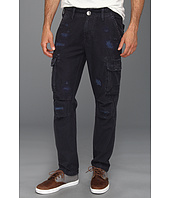 True Religion - Anthony Slim Twill Cargo Pant in Dark Navy