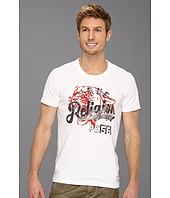 True Religion - Panther Short Sleeve Crew Neck Tee