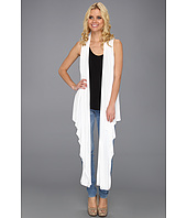 DKNY Jeans - Sleeveless Wrap Cozy w/ Snaps