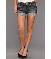 True Religion - Jayde Boyfriend Short in Granite